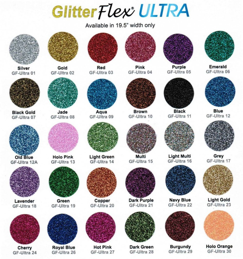 Glitter color chart crystal couture glitter color chart nvjuhfo Gallery
